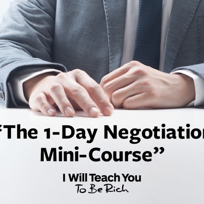 The 1-Day Negotiation Mini-Course | Dream Job